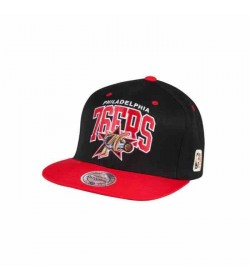 Mitchell and Ness snapback 226 76ers Black Red-20