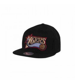 Mitchell and Ness snapback 405 76ers Black-20