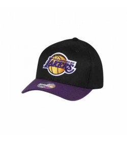 Mitchell and Ness Caps 285 LAKERS Black Purple-20