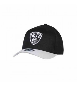Mitchell and Ness Caps 285 NETS Black Grey-20