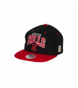 Mitchell and Ness snapback 226 BULLS Black Red-20