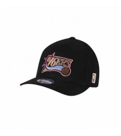 Mitchell and Ness Caps 323 76ers Black-20