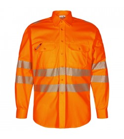 FE-Engel Safety Skjorte Orange-20