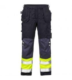Kansas Flame Hi Vis håndværker bukser kl.1 2074-20