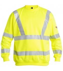 FE-Engel EN 20471 Sweatshirt Gul-20