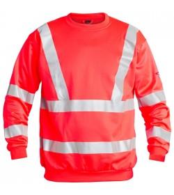 FE-Engel EN 20471 Sweatshirt Rød-20