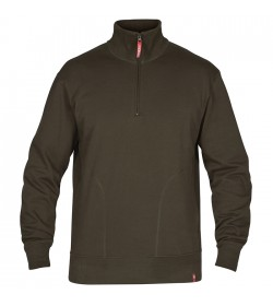 FE-Engel High Neck Sweat Forest Green-20