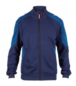 FE-Engel Galaxy Sweatcardigan M/ Krave Blue Ink/Dark Petrol-20