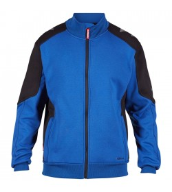 FE-Engel Galaxy Sweatcardigan M/ Krave Surfer Blue/Sort-20
