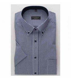 Eterna Comfort fit kort ærmet skjorte 8913 K144 16-20