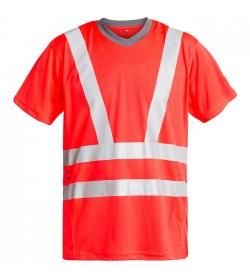 FE-Engel EN 20471 T-Shirt Rød-20