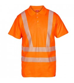 FE-Engel EN 20471 Polo T-Shirt Orange-20