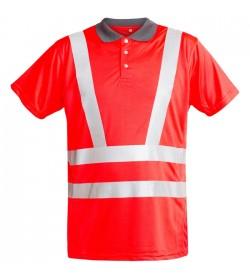 FE-Engel EN 20471 Polo T-Shirt Rød-20