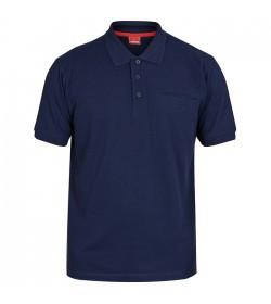 FE-Engel Poloshirt Med Brystlomme Blue Ink-20