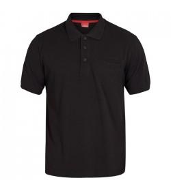 FE-Engel Poloshirt Med Brystlomme Sort-20