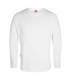 FE-Engel Langærmet T-Shirt Hvid-20