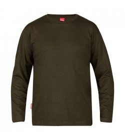 FE-Engel Langærmet T-Shirt Forest Green-20