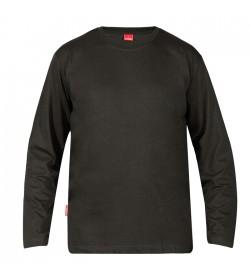 FE-Engel Langærmet T-Shirt Antrazitgrå-20