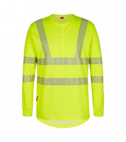 FE-Engel Safety Langærmet T-Shirt Gul-20