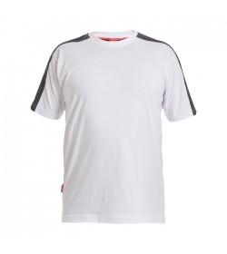 FE-Engel Galaxy T-Shirt Hvid/Antrazitgrå-20
