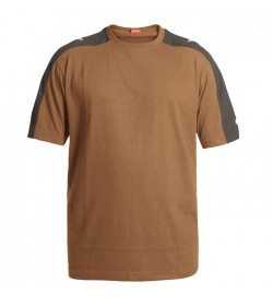 FE-Engel Galaxy T-Shirt Toffee Brown/Antrazitgrå-20