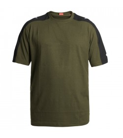 FE-Engel Galaxy T-Shirt Forest Green/Sort-20