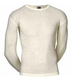 JBS uld undertrøje med lange ærmer råhvid-20