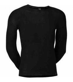 JBS uld undertrøje med lange ærmer sort-20