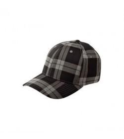 Flexfit cap grå ternet-20