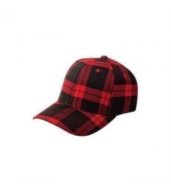Flexfit cap rød ternet-20