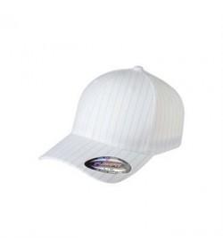 Flexfit cap hvid pinstripe-20