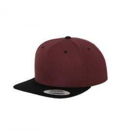Snapback cap sort/bordeaux-20