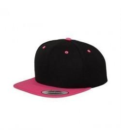 Snapback cap sort/pink-20