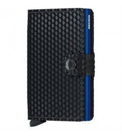 Secrid mini wallet cubic black blue-20
