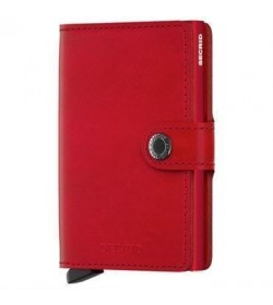 Secrid mini wallet original red-20