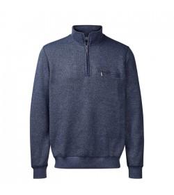 Belika Sweatshirt Blue Melange-20