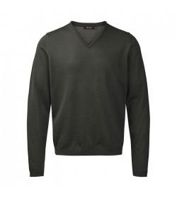 Belika Pullover v-hals Dark green-20