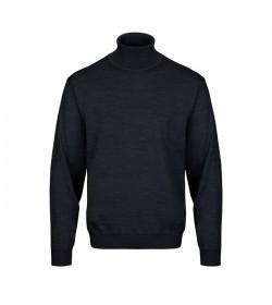 Belika Rullekrave-pullover Navy-20