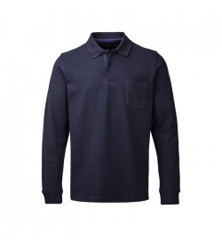 Clipper Polo langærmet Mørk Navy-20