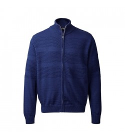 Clipper Zip-cardigan Blå-20