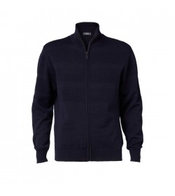 Clipper Zip-cardigan Mørk Navy-20
