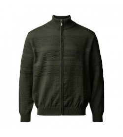 Clipper Zip-cardigan Army-20