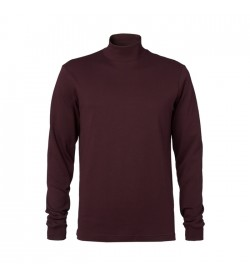 Clipper Turtleneck Bordeux-20