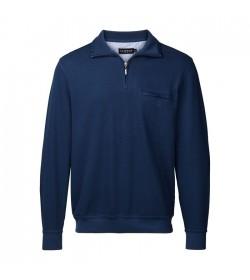 Clipper Sweatshirt Denim Blå-20