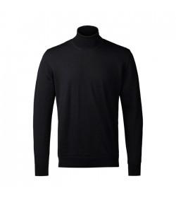 Clipper Rullekrave-pullover Sort-20