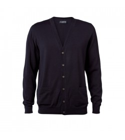 Clipper Cardigan Mørk Navy-20