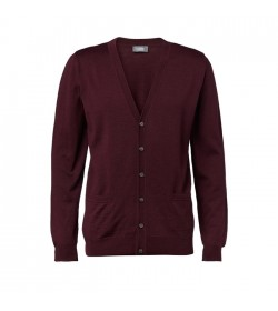 Clipper Cardigan Bordeux-20