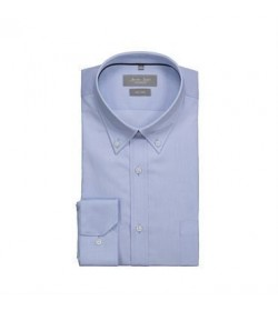 Seven Seas skjorte modern fit ss56 light blue-20