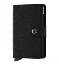 Secrid mini wallet crisple black-20