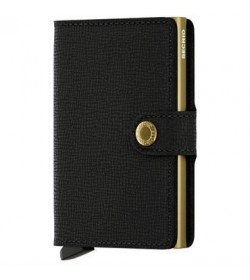 Secrid mini wallet crisple black gold-20